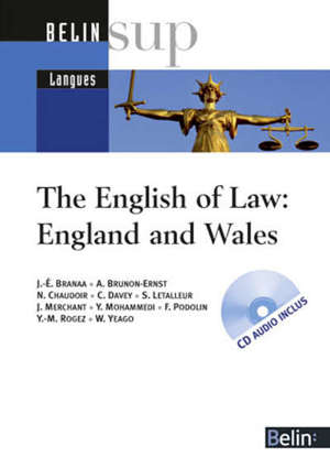 The English of law, England and Wales