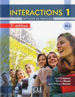 Interactions 1, A1.1 : méthode de français