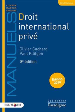 Droit international privé : année 2019-2020