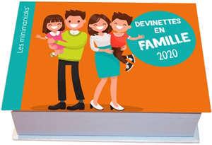 Devinettes en famille 2020