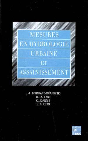 Mesures en hydrologie urbaine et assainissement