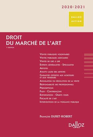 Droit du marché de l'art : 2019-2020