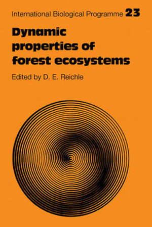 DYNAMIC PROPERTIES OF FOREST ECOSYSTEMS -