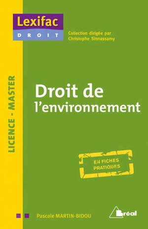 Droit de l'environnement : licence & master