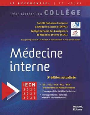 Médecine interne : iECN 2020, 2021, 2022