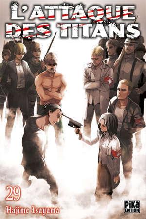 L'attaque des titans. Volume 29