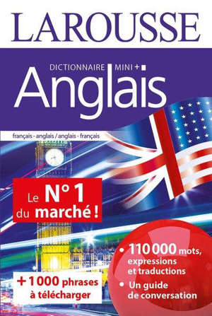 Anglais : dictionnaire mini + : français-anglais, anglais-français = English : mini dictionary + : French-English, English-French