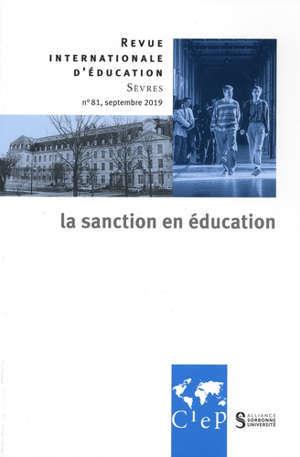 Revue internationale d'éducation. n° 81, Education et punition