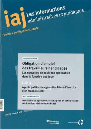 Informations administratives et juridiques. n° 10 (2019)