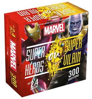 Boîte super héros vs super vilain : Marvel