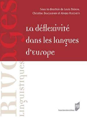 La déflexivité dans les langues d'Europe