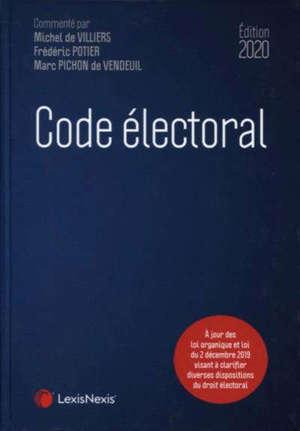 Code électoral : 2020