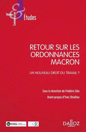 Ordonnances Macron : un nouveau droit du travail ?