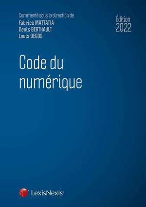 Code du numérique 2022