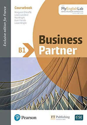 Business partner B1 : coursebook and standard MyEnglishLab pack