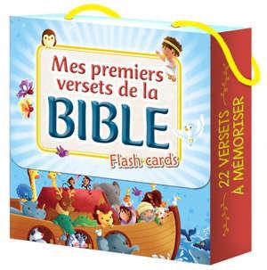 Mes premiers versets de la Bible : flash cards