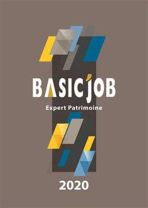 Basic'Job : expert patrimoine : 2020