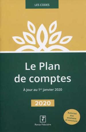 Plan de comptes 2020 : extrait du Code comptable : autorisé aux examens et concours