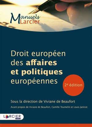 Droit européen des affaires et politiques européennes