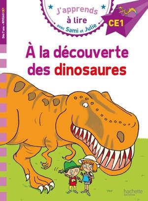 A la découverte des dinosaures : niveau CE1